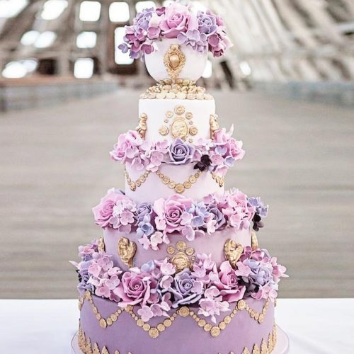 Lilac Color For Wedding Inspiration picture 2