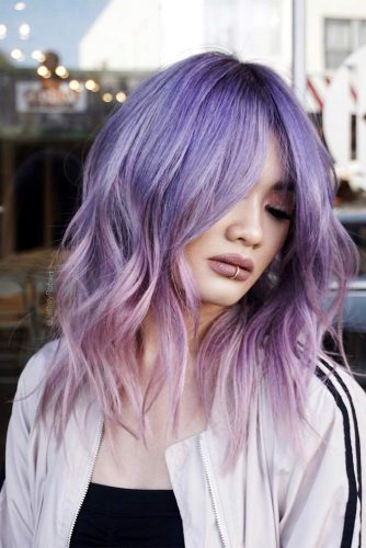 46 Purple Hair Styles That Will Make You Believe In Magic