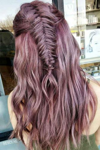 Ancient Pink Colored Fishtail