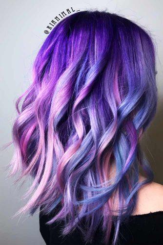 Blue And Purple Mermaid