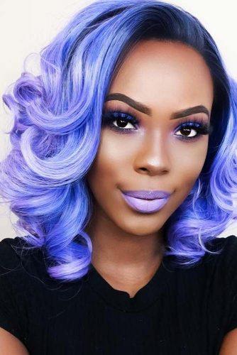 Amethyst Blue Hair