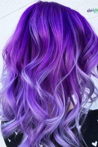 Indigo Blend #purplehair #haircolor
