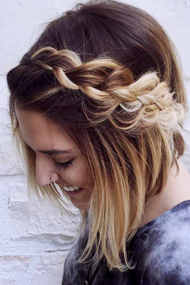 Cute Easy Hairstyles To Make Your Day Brighter Picture 3