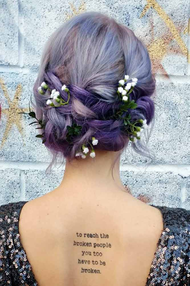 Stunning Medium Hair Updos For Romantic Mood Picture 1