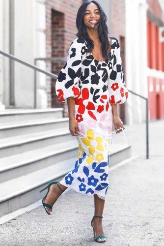 Amazing Print Dress Designs picture 2