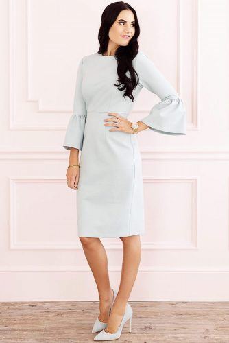Modern Spring Dresses In Pastel Colors picture 6