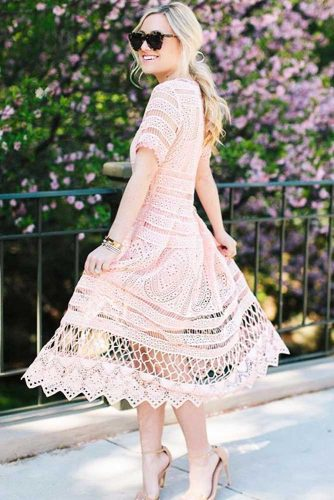 Modern Spring Dresses In Pastel Colors picture 1