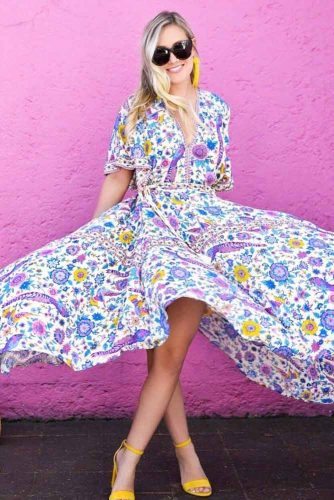 Flower Spring Dresses picture 5