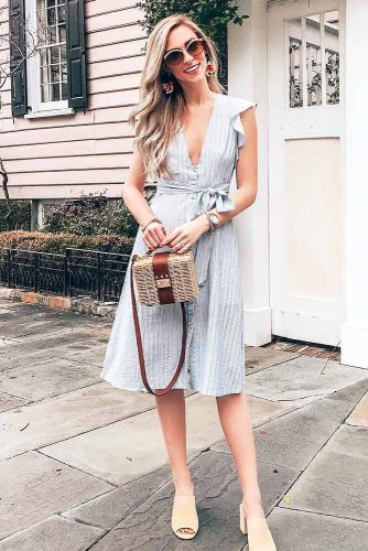 Modern Spring Dresses In Pastel Colors picture 4