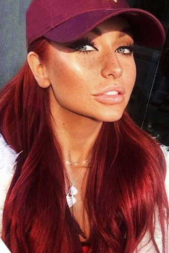 Saturated Red Hair Style to Rock Picture 1