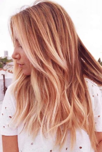 Soft Gold Blonde Shade to Make Your Hair Shine Picture 1