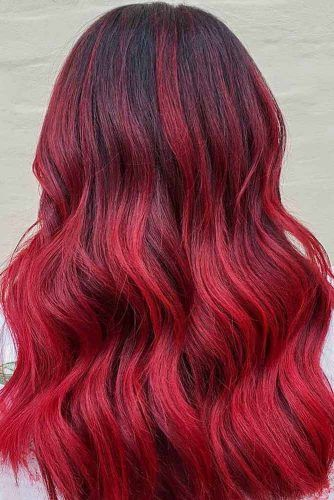 Red Hair Color For Spring Look #redhair #redhaircolor