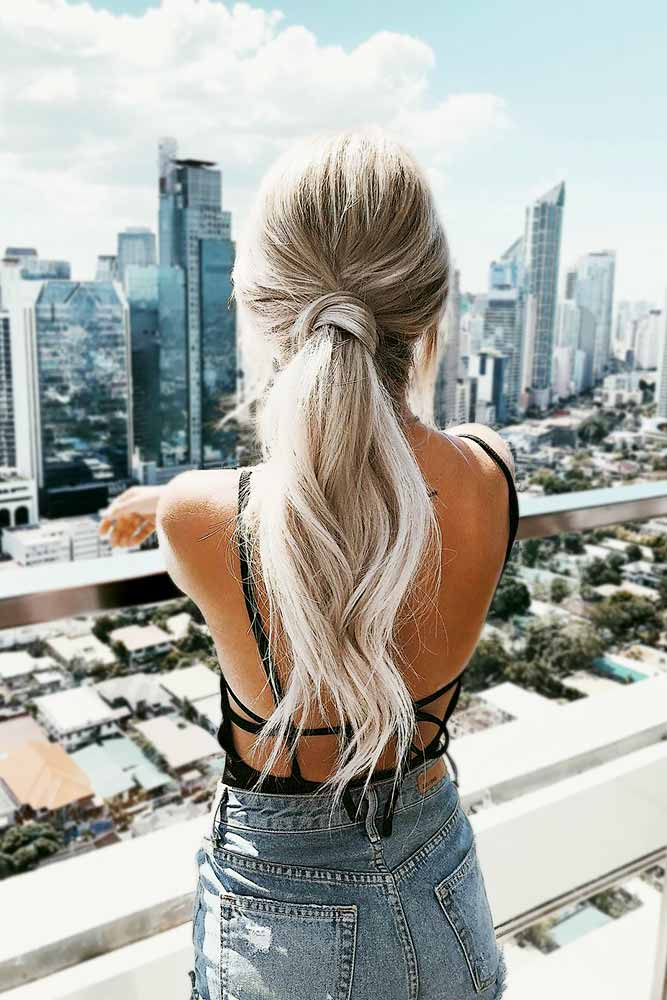 Cute and Easy Ponytail Hairstyles Picture 3