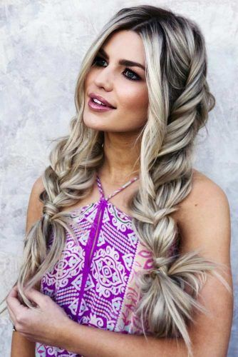 Long Braids Hairstyle For Trendy Spring Look #braids