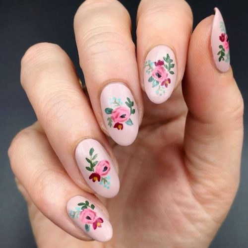 Floral Inspiration For Spring Nails picture 1