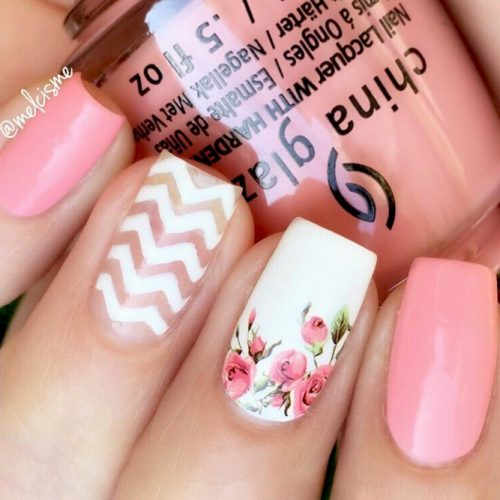 Soft Pinky Chevrons For Real Ladies picture 2