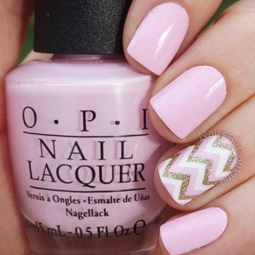 Soft Pinky Chevrons For Real Ladies picture 3