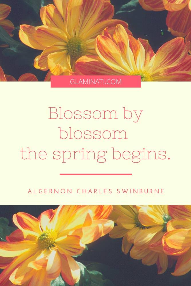 Spring Quote By Algernon Charles Swinburne #algernoncharlesswinburne