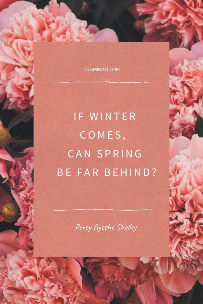 Spring Quote By Percy Bysshe Shelley #quotesabiutspring #percybyssheshelley