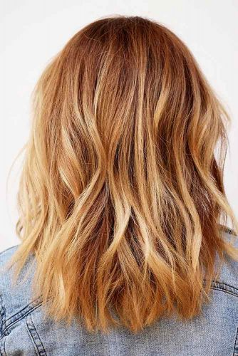 Strawberry Balayage For Blonde Hair Picture 3