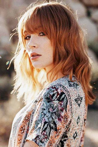 Strawberry Blonde For Those Who Are Bored With Ordinary Blonde Picture 2