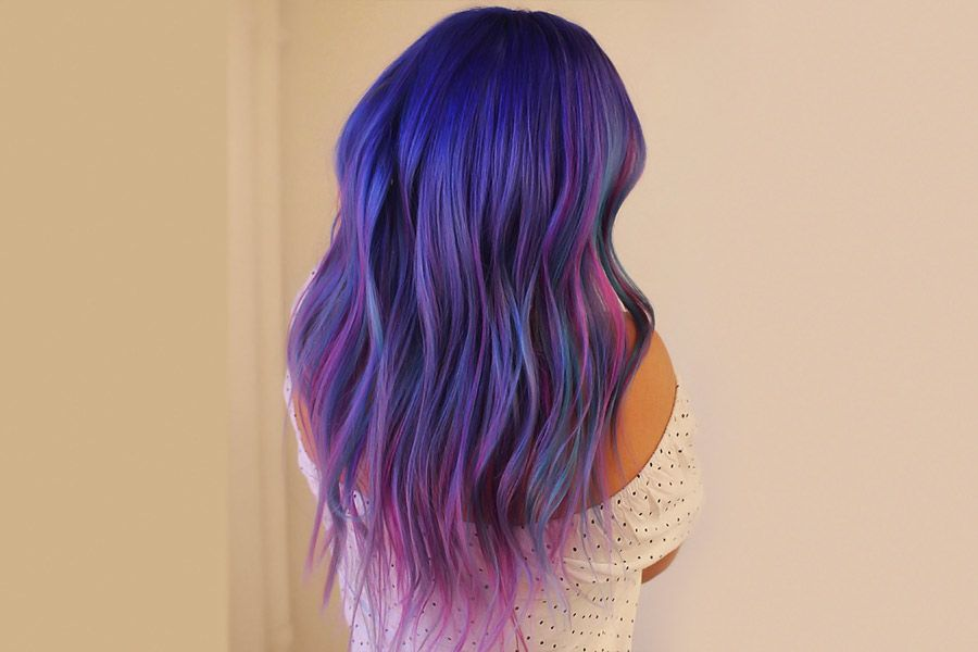Purple Hair Styles that Will Make You Believe in Magic