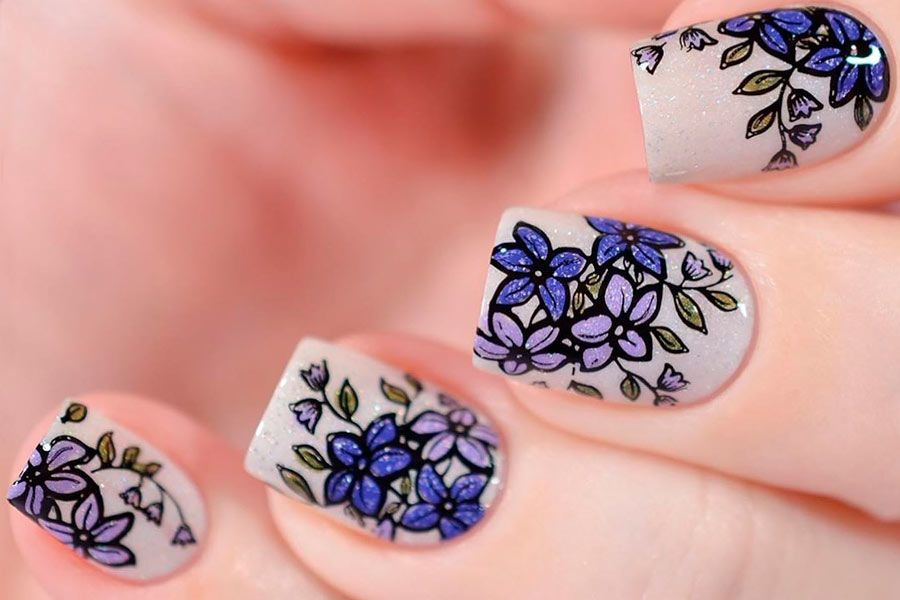 Hottest Manicure Ideas For Spring Nails