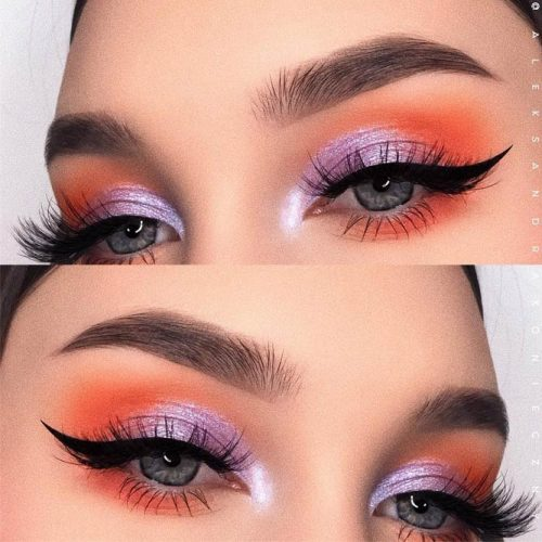 Colorful Eyes Makeup Idea #eyesmakeup