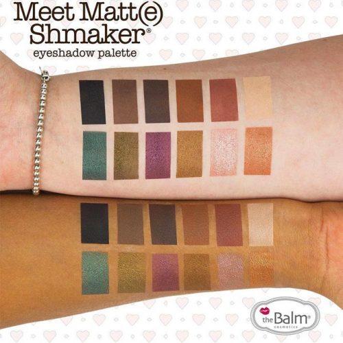 TheBalm Meet Matte Shmaker Eyeshadow Palette picture 2