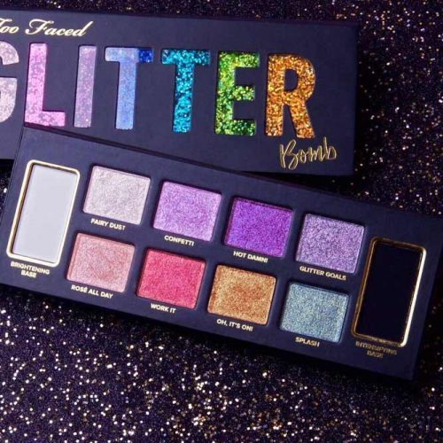 Too Faced Glitter Bomb Prismatic Eyeshadow Palette picture 1