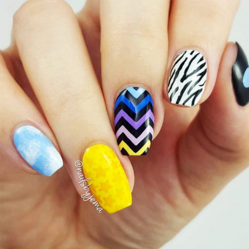 How To Prepare Your Nails For a Chevron Design Picture 4
