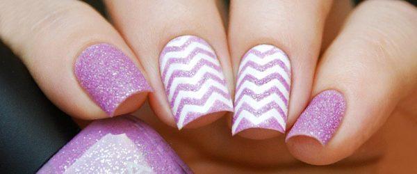 21 Amazing Chevron Pattern Design Nails