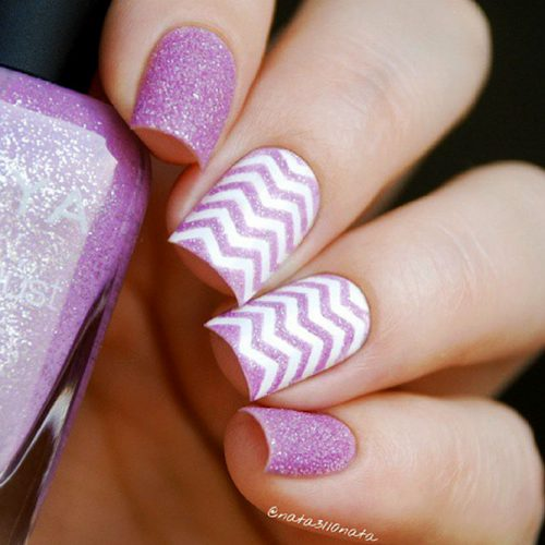 Some Useful Tips For Your Chevron Nails Picture 2