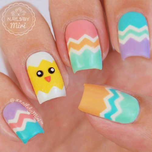 Some Useful Tips For Your Chevron Nails Picture 4