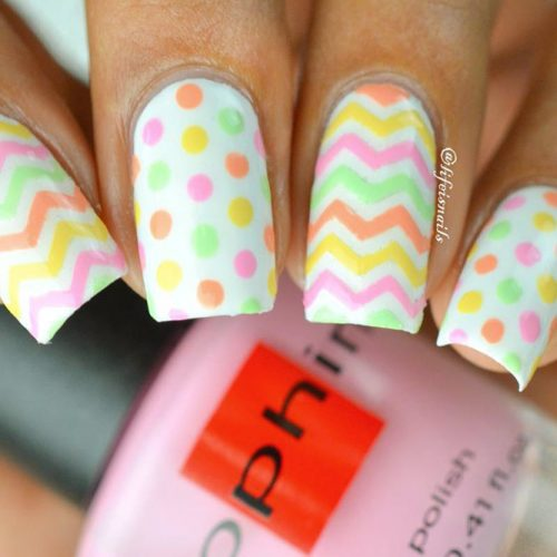 Some Useful Tips For Your Chevron Nails Picture 1