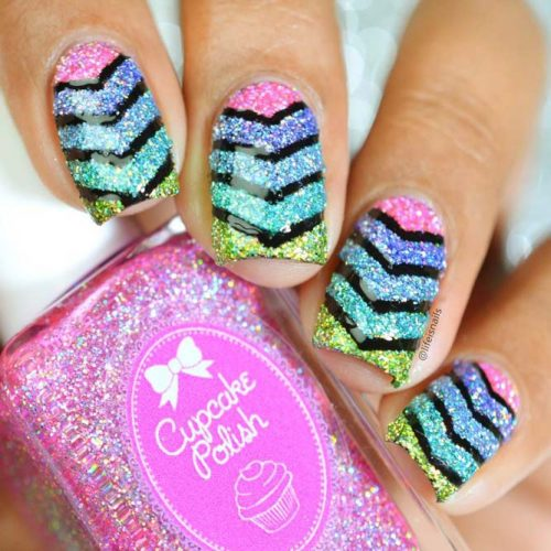 How To Prepare Your Nails For a Chevron Design Picture 1