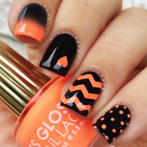 More Ideas For Your Chevron Nails Picture 1