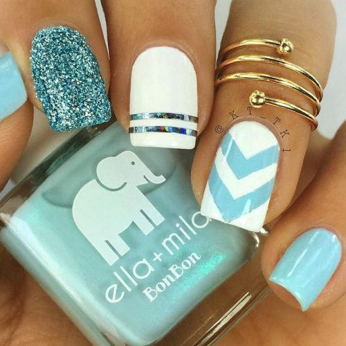 How To Prepare Your Nails For a Chevron Design Picture 3
