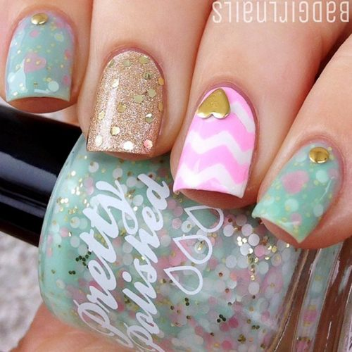 Chevron Design For Nails: Fun And Easy Picture 5