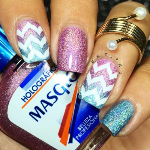 How To Prepare Your Nails For a Chevron Design Picture 2