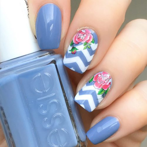 Some Useful Tips For Your Chevron Nails Picture 5