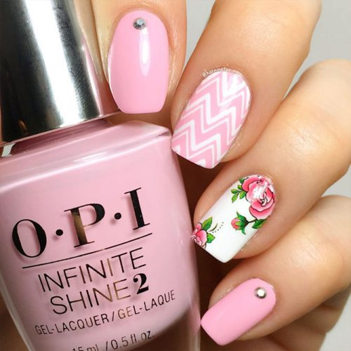 Chevron Design For Nails: Fun And Easy Picture 2