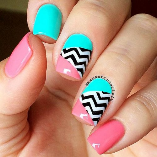 How To Prepare Your Nails For a Chevron Design Picture 5