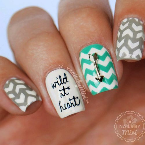 Some Useful Tips For Your Chevron Nails Picture 3