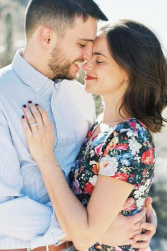 Gentle Emotional Engagement Photo: Together Forever #couple #hug #sweeteembrace #romantic