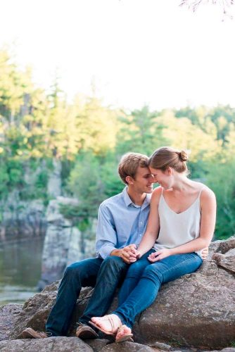 Best Engagement Photo Ideas With Beautiful View #fallinginlove