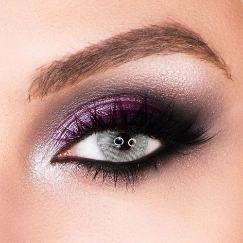 Sexy Smokey Makeup For Gray Eyes #smokey #grayeyes