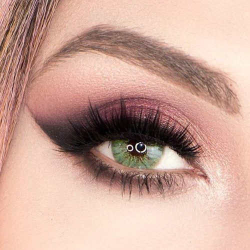 Soft Smokey Look For Green Eyes #smokey #greeneyes
