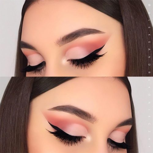 Soft Smokey Eyes Makeup #mattesmokey