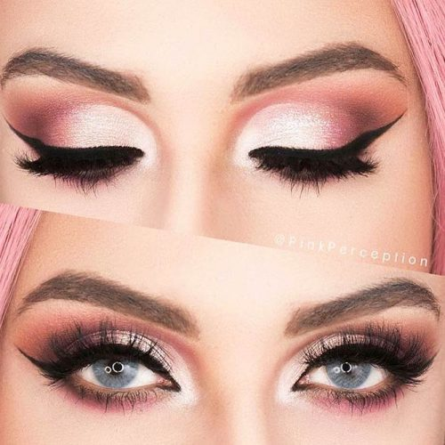 Shimmer Eyeshadow For Date Makeup picture 3